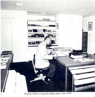 Charles in Print Study Room