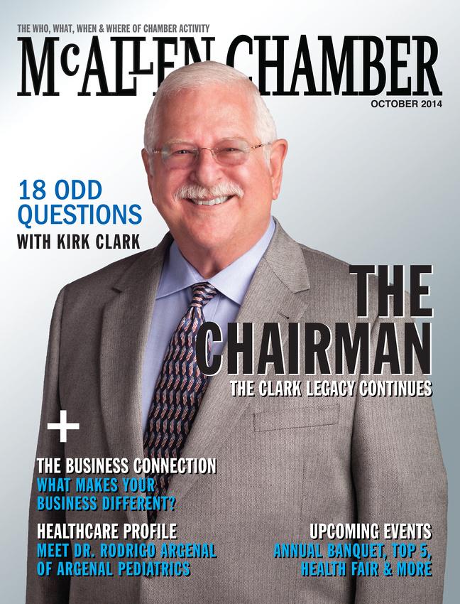 McAllen Chamber Magazine Cover